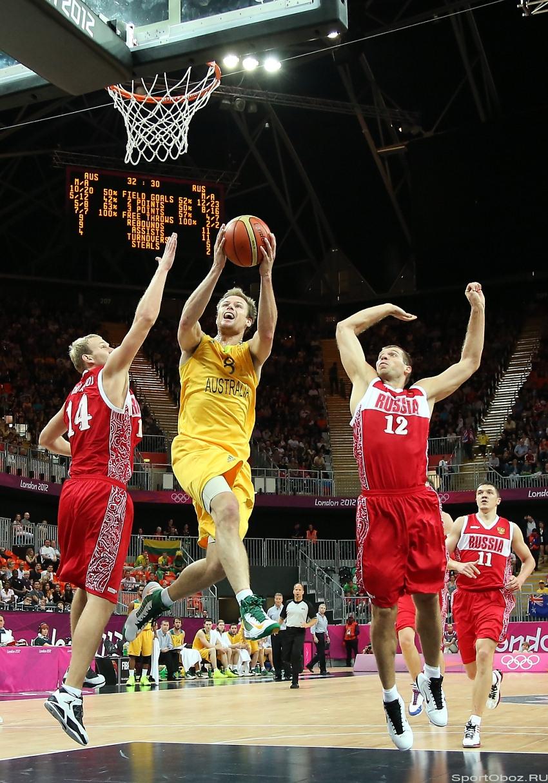 7d348377 Фотоотчет с ОИ-2012 Олимпийский баскетбол: Россия Австралия 80:82 ...