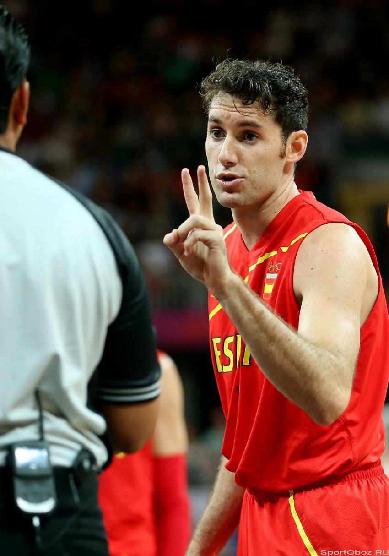 Олимпийский баскетбол россия испания