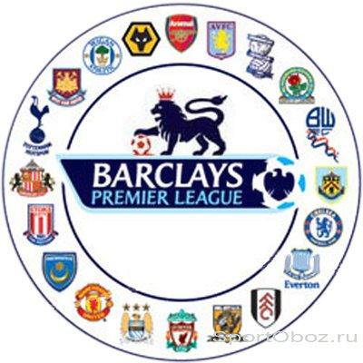 Английский Премьер Лига Таблица 2016-2017