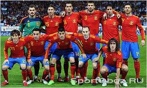 Состав национальной сборной испании по футболу 2010 года