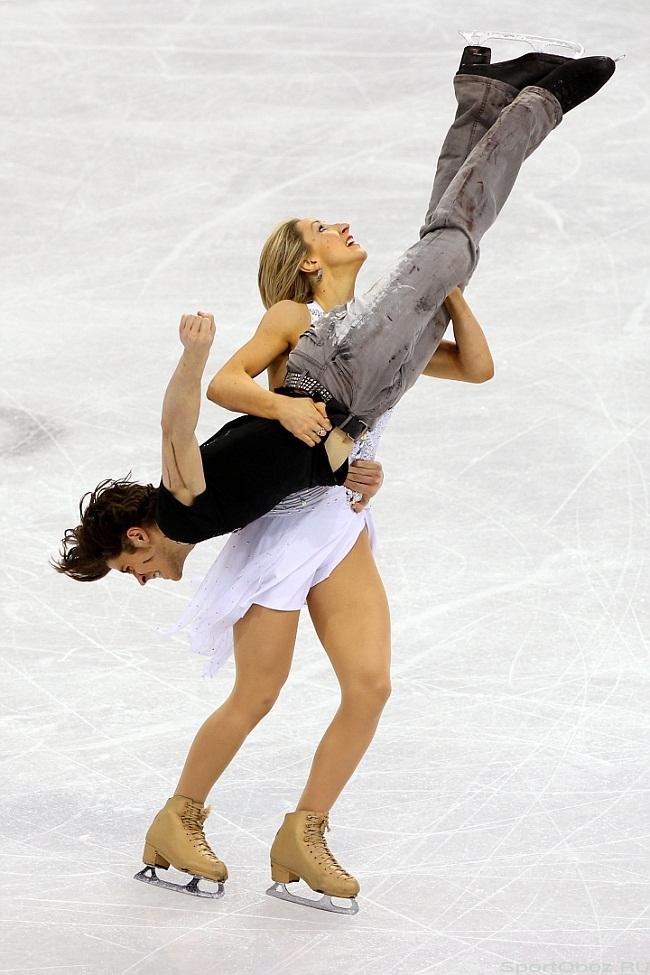 80 фото. На Олимпиаде в Ванкувере произвольными танцами закончились