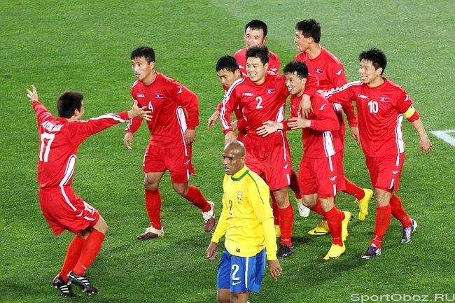 прогноз корея футбол бразилия
